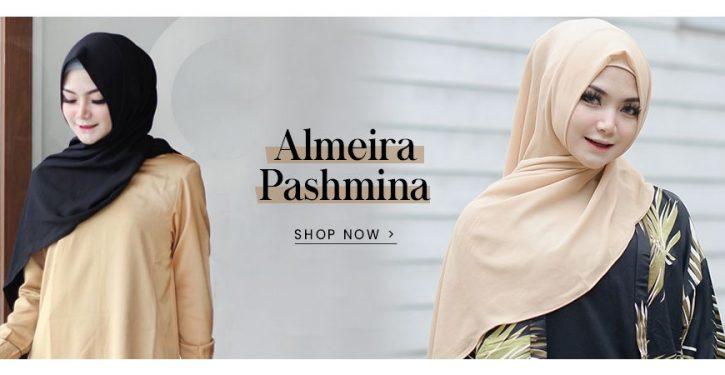 jual aksesoris hijab almeira pasmina